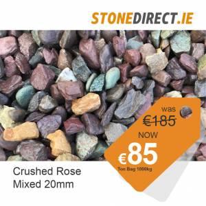 Crushed Rose Mix 20mm